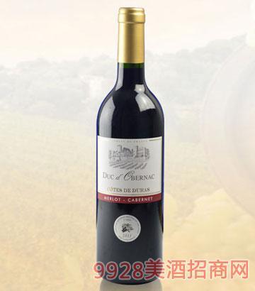 奥贝克公爵干红葡萄酒