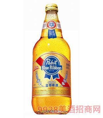 金質藍帶啤酒640ml