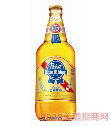 金質藍帶啤酒500ml