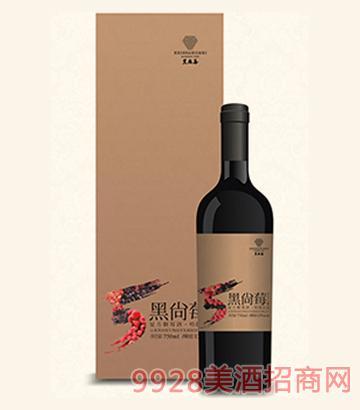 复方树莓酒?#20998;?#32418;12°750ml