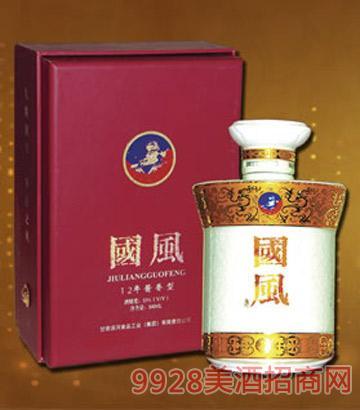 12年九粮国风酒