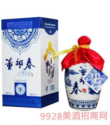 董郎春-青花瓷酒