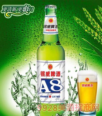 YW009-500ml银威啤酒A8-青瓶