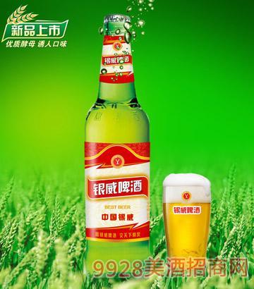 YW006-500ml中国银威啤酒-青瓶