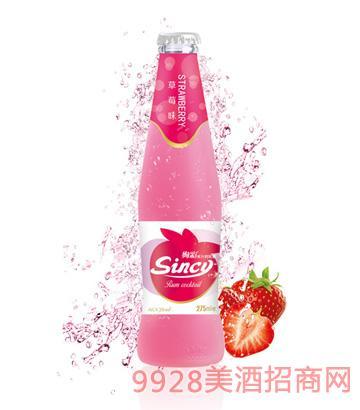 诱人草莓味-- 果汁鸡尾酒275ml