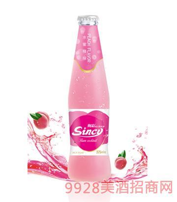 浪漫蜜桃味-- 果汁鸡尾酒275ml