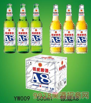 500ml-银威啤酒A8