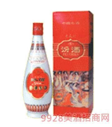 庆寿盒乳白玻汾酒
