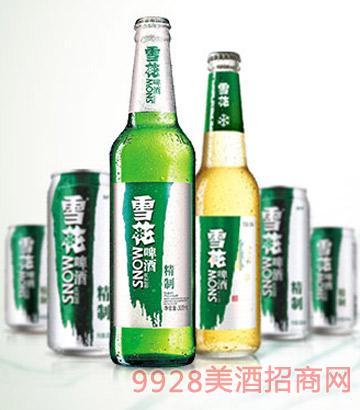 �A��雪花精制啤酒
