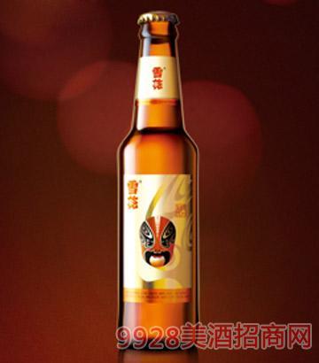华润雪花脸谱啤酒