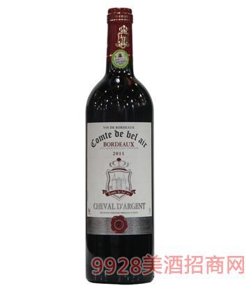 宝莱尔银马干红葡萄酒