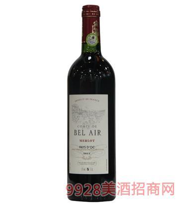 宝莱尔美乐干红葡萄酒