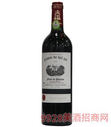 宝莱尔梧桐干红葡萄酒