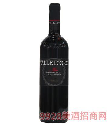 黄金之谷干红葡萄酒