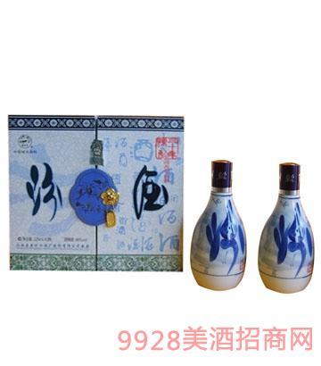48度三十年双青花瓷汾酒图片