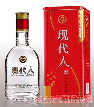 现代人(铁盒装)酒
