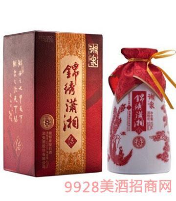 52度475ml8年湘泉锦绣潇湘酒
