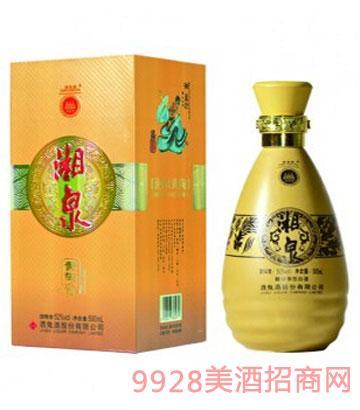 52度500ml湘泉酒(黄陶)