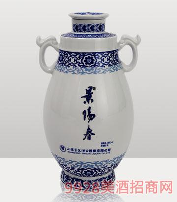 58度5L景阳春双龙戏珠酒