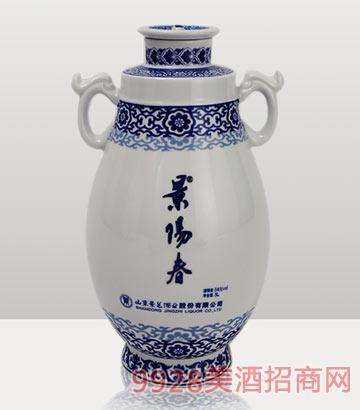 72度5L景阳春双龙戏珠酒