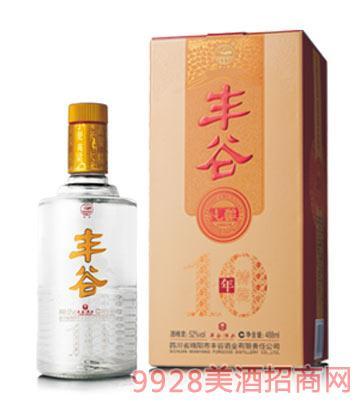 丰谷10年纯酿(精装)酒
