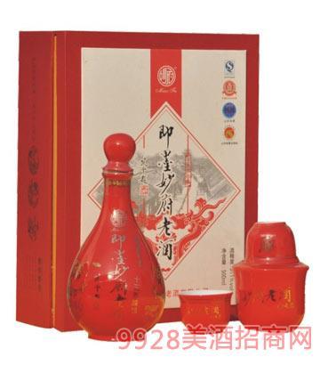红花瓷十五年陈酿妙府老酒