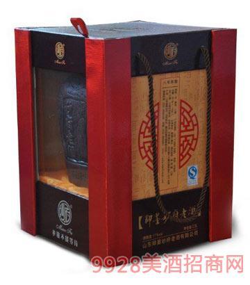 妙府老酒八年陈紫砂坛礼盒