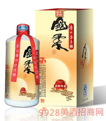 国柔(月)53°500ml 柔和酱香型酒