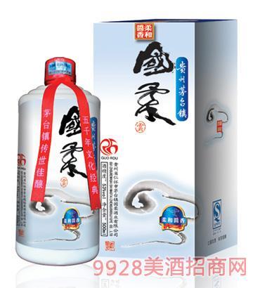 国柔(云)53°500ml 柔和酱香型酒