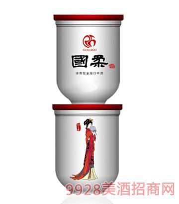 国柔十二金叉口杯酒52°125ml