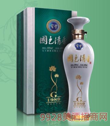 寶豐國色清香G系列1989酒
