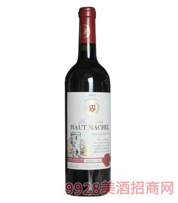 法国波尔多豪客马谢尔干红葡萄酒