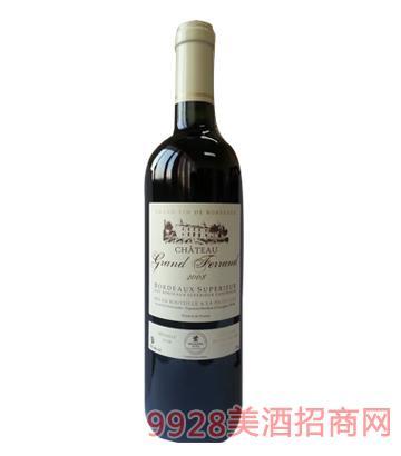 法國波爾多大法蘭古堡2008葡萄酒