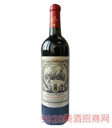 法国列级庄古德古堡2007葡萄酒