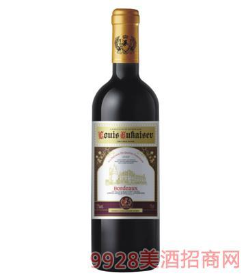 法国路易欧帝2002干红葡萄酒