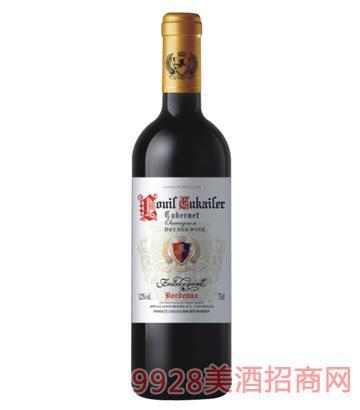 法国路易欧帝爵士2007干红葡萄酒