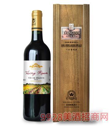 艾略特特酿干红木盒葡萄酒12%vol750ml