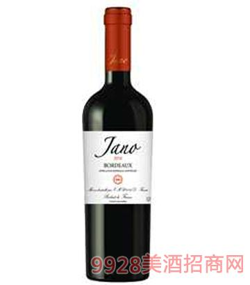 雅诺波尔多AOC干红葡12%vol750ml萄酒