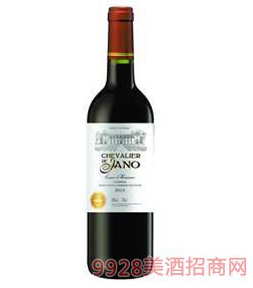 雅诺骑士干红葡萄酒12%vol750ml