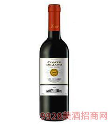雅诺伯爵干红葡萄酒12%vol750ml