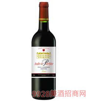雅诺巴菲庄园干红葡萄12%vol750ml酒