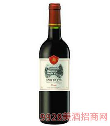 雅诺男爵干红葡萄酒12%vol750ml