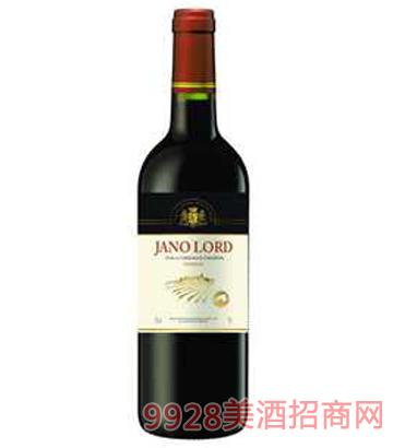 雅诺勋爵干红葡萄酒12%vol750ml