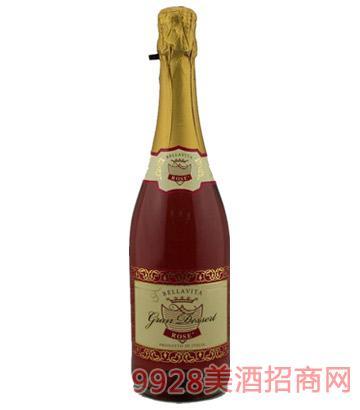甜美生活玫瑰起泡葡萄酒