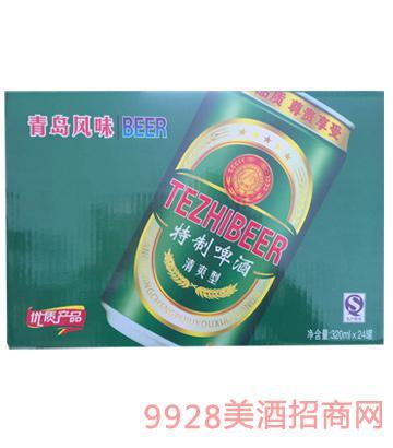 青岛风味特制啤酒
