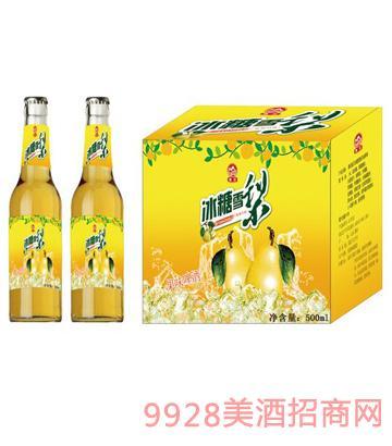 冰糖雪梨啤酒500ml