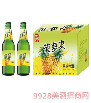 菠萝爽果味啤酒1x12