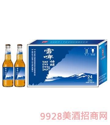 雪啤特醇啤酒1x24