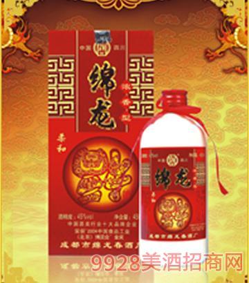 绵龙福酒(柔和型)45°450ml