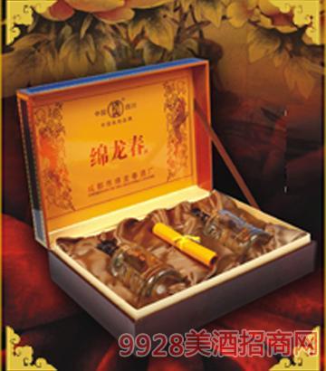 绵龙春经典礼品盒45°500ml酒
